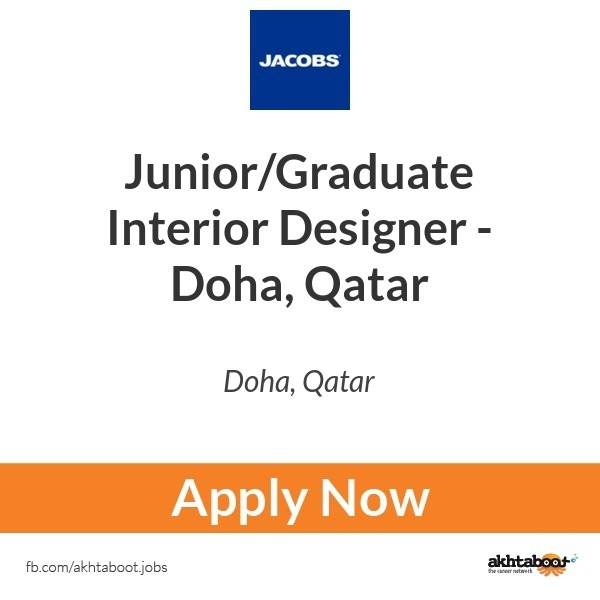 Junior Graduate Interior Designer Doha Qatar Job At Jacobs In