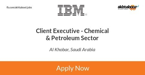 Client Executive - Chemical & Petroleum Sector job at IBM in Al