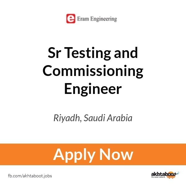 testing and commissioning engineer